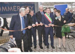 Inaugurazione di Commercity, nel 2011
